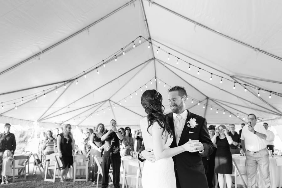 Bride and Groom First Dance Wedding Portrait   Tampa Bay Wedding Videographer Hatfield Productions