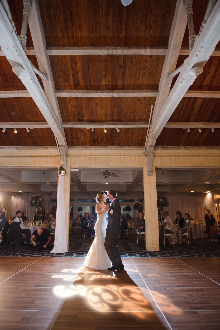 Bride and Groom First Dance | Clearwater Beach Wedding Venue Carlouel Yacht Club | Planner Parties a la Carte | Photographer Marc Edwards Photographs