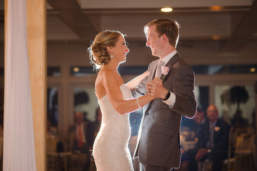 Bride and Groom First Dance | Clearwater Beach Wedding Planner Parties a la Carte | Photographer Marc Edwards Photographs