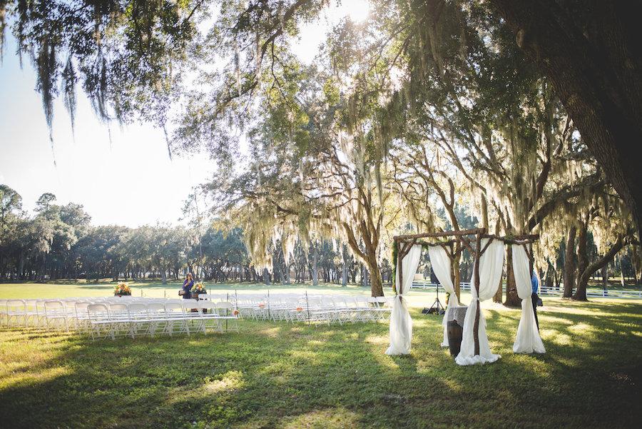 Outdoor Rustic Dade City Wedding Venue | Outdoor Rustic Tampa Bay Wedding Venue | The Lange Farm