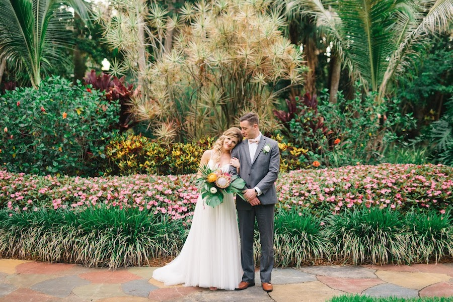 Southern Glam Weddings and Events | Sunken Gardens Wedding
