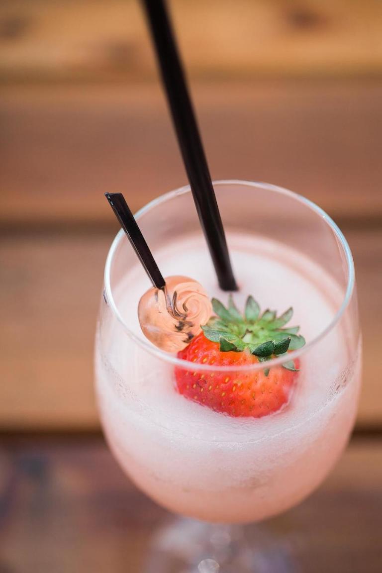 Summer Signature Wedding Drink Ideas | Frose | Tampa Bay Wedding Caterer Saltblock Catering