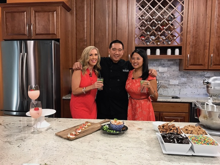 Marry Me Tampa Bay and Saltblock Catering on ABC's The Morning Blend