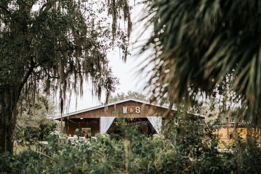 Outdoor, Florida Barn Wedding Reception Venue | Rustic Florida Wedding Venue Cross Creek Ranch