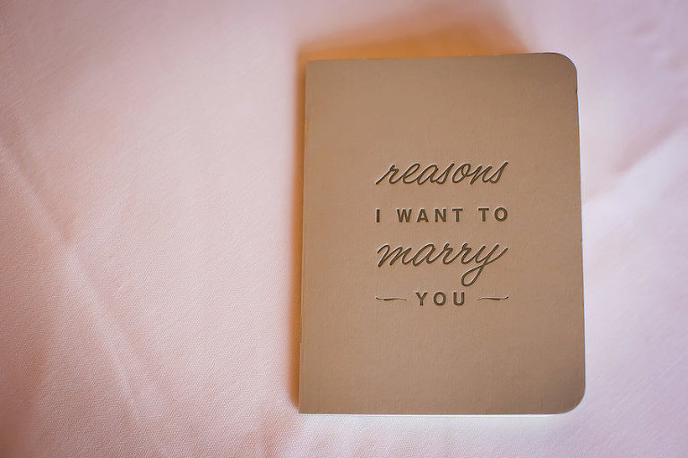 Wedding Vows Custom Notebook