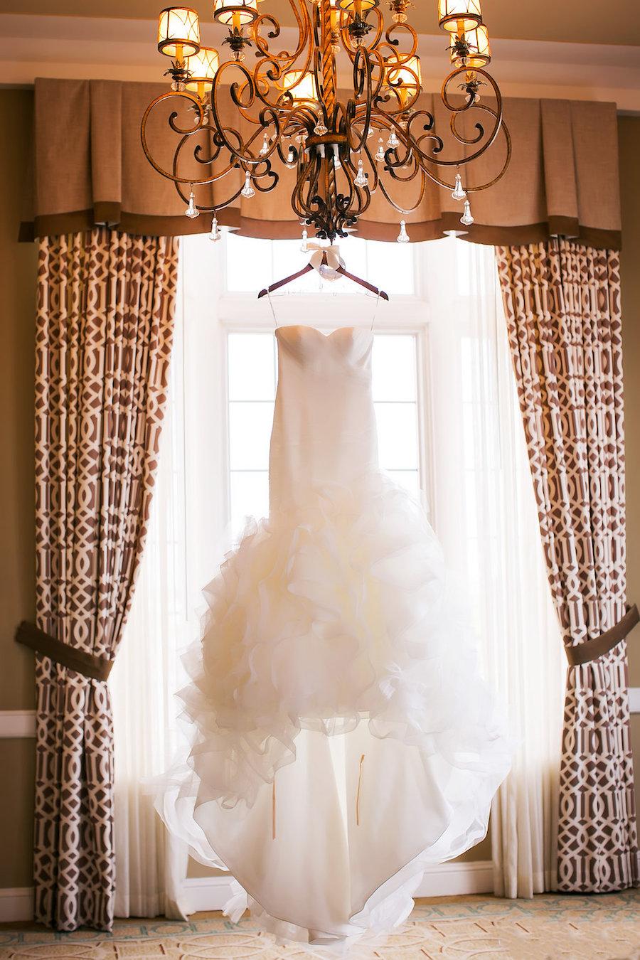 Ivory Strapless Drop Waist Pronovias Wedding Dress   Pronovias Wedding Dress