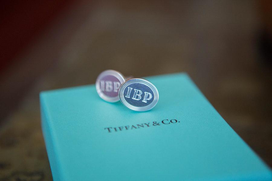 TIffany & Co. Groomsmen Wedding Cufflinks