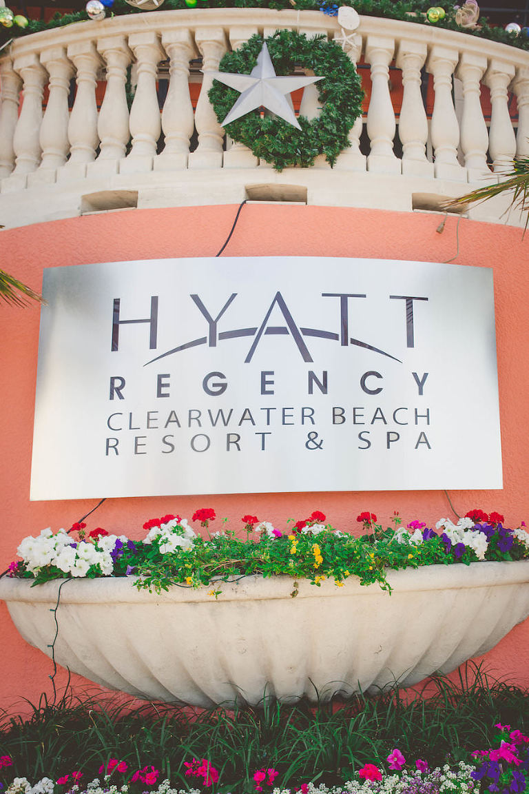 Tampa Bay Florida Hotel Wedding Venue Hyatt Regency Clearwater Beach Resort & Spa
