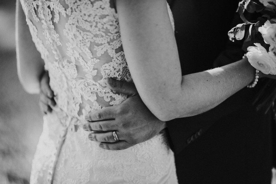 Bride and Groom Wedding Portrait   Tampa Bay Wedding Photographer Rad Red Creative