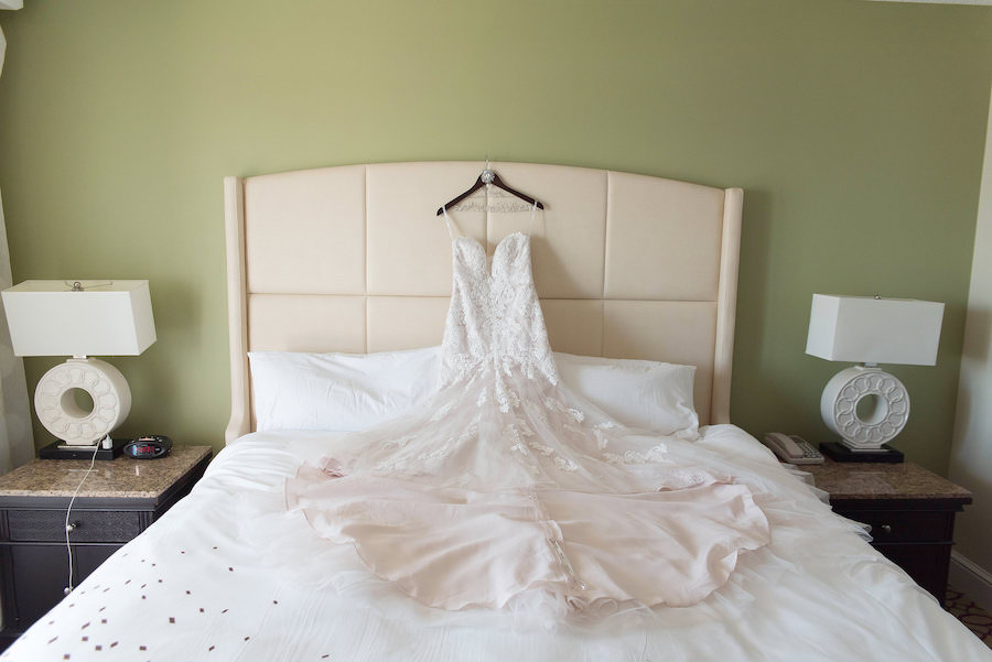 Sweetheart Lace Stella York Wedding Dress