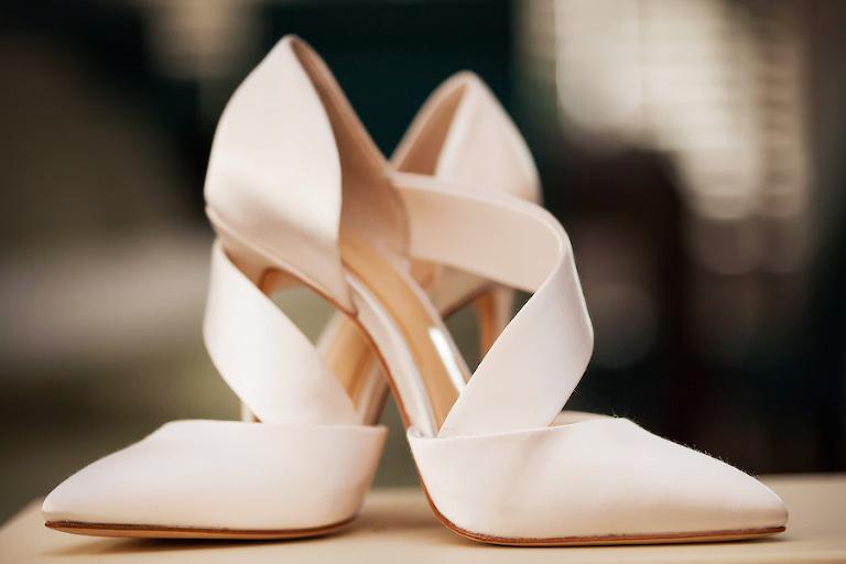 Blush Satin Imagine Vince Camuto Oya Pumps Wedding Shoes