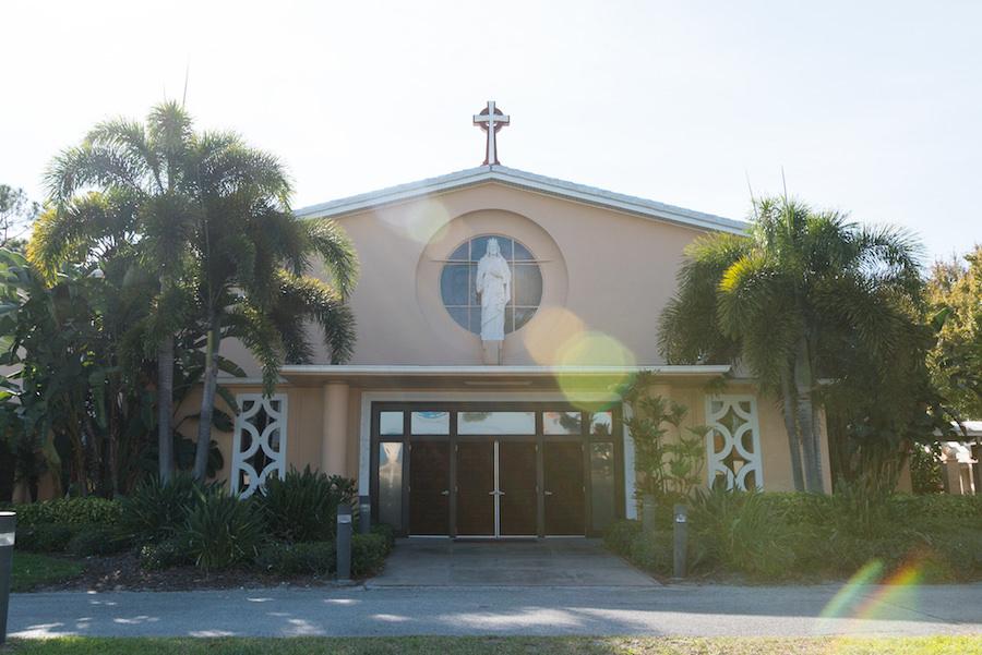 Tampa Bay Wedding Ceremony Venue Christ the King Catholic Church