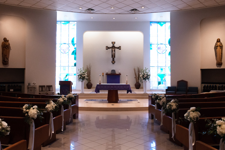 Tampa Bay Wedding Ceremony Venue Christ The King Catholic