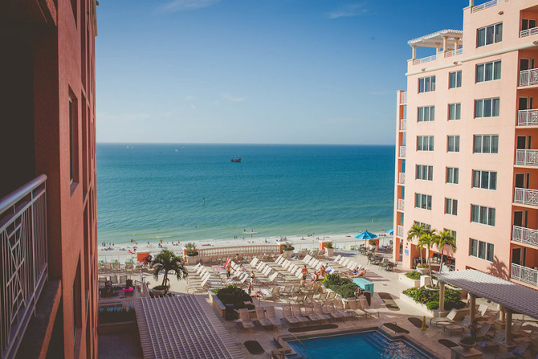 Beachfront Rooftop Waterfront Hotel Wedding Venue Hyatt Regency Clearwater Resort & Spa