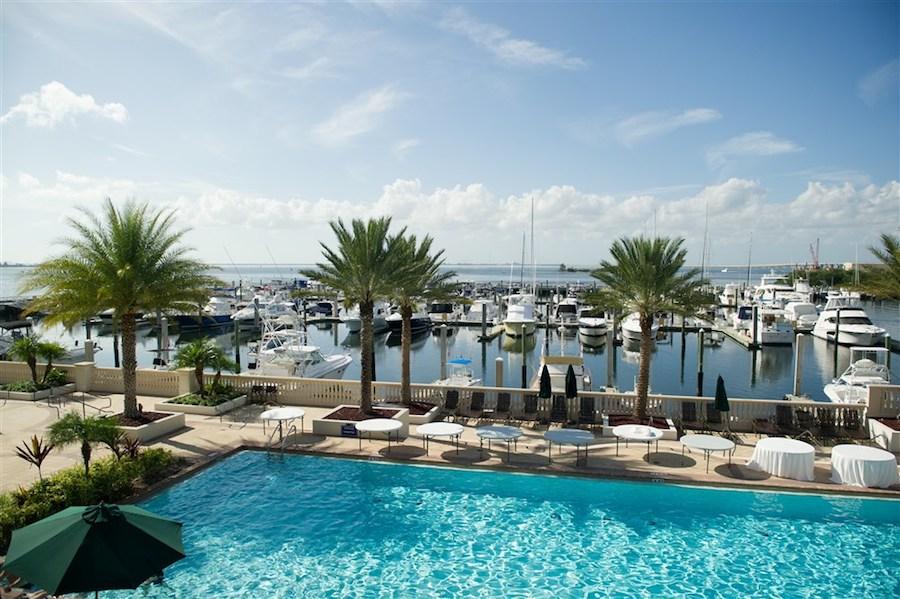 Tampa Bay Florida Waterfront Wedding Venue Westshore Yacht Club