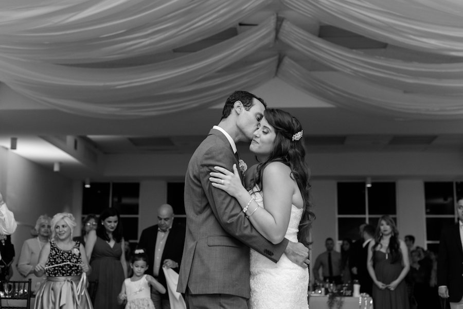 First Dance Portrait by Tampa Bay Wedding Photographer Caroline & Evan Photography