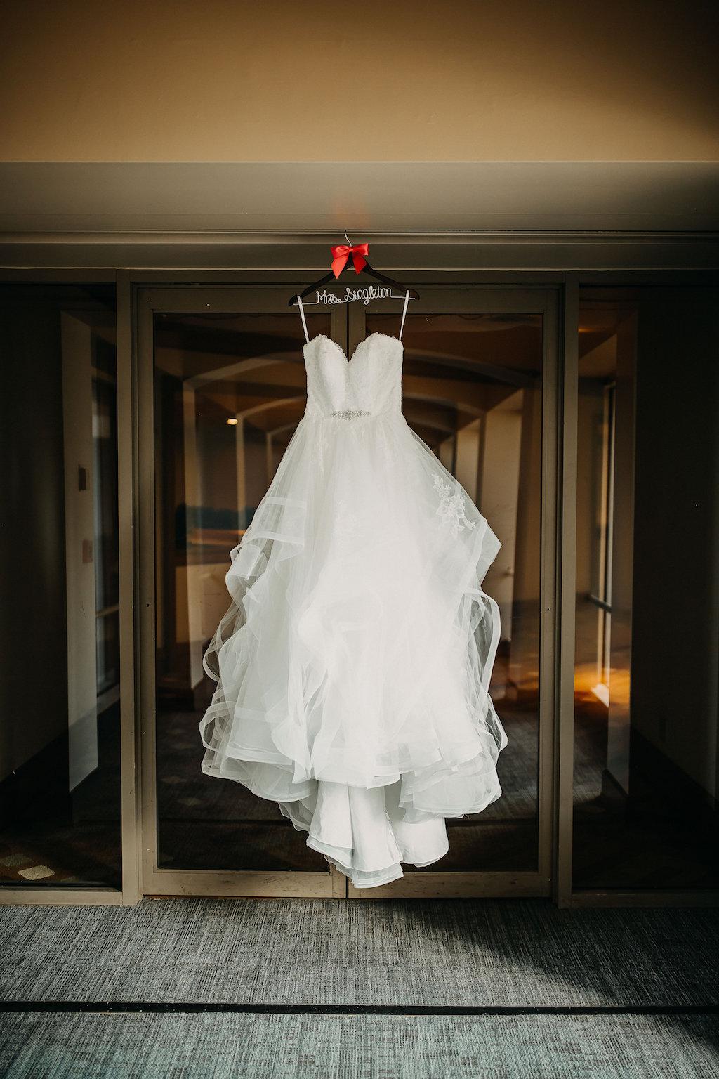 Stella York Sweetheart Ballgown Wedding Dress on Personalized Hanger