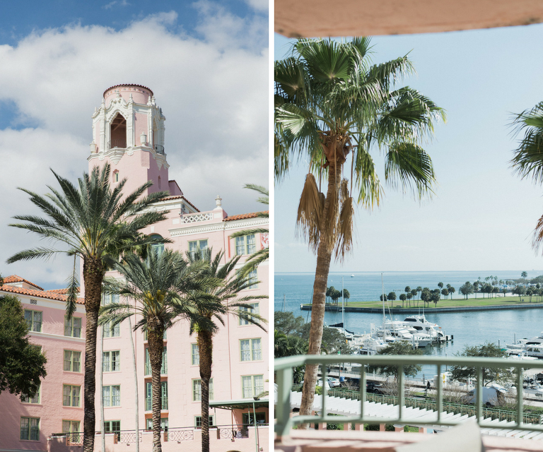 Tampa Bay Waterfront Downtown St Petersburg Hotel Wedding Venue The Vinoy Renaissance