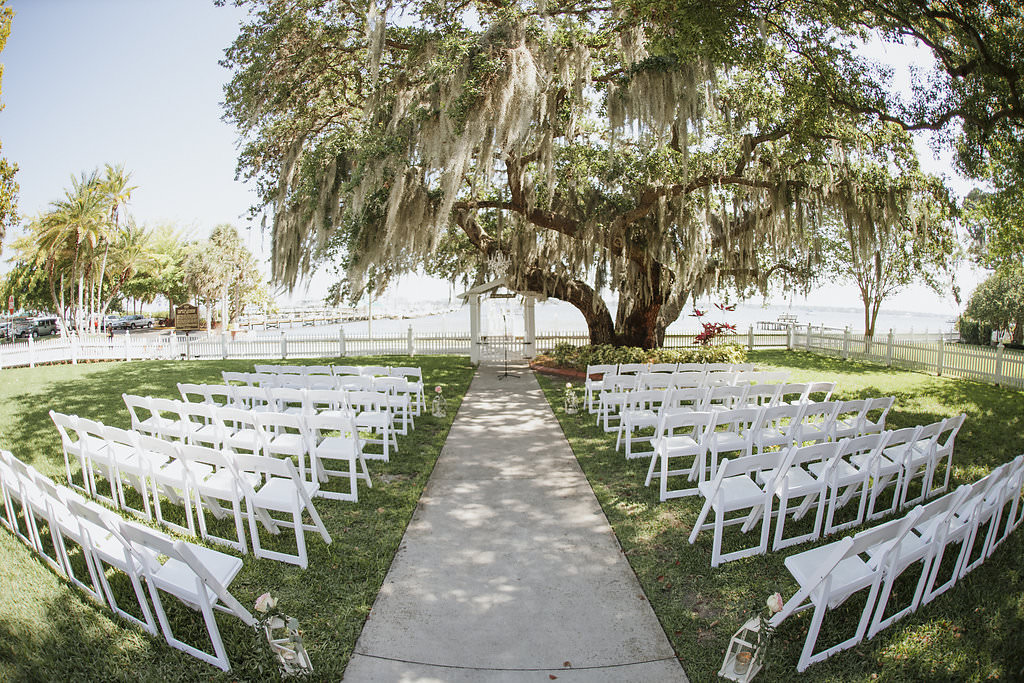 Vintage Garden Inspired Sarasota Wedding Palmetto Riverside