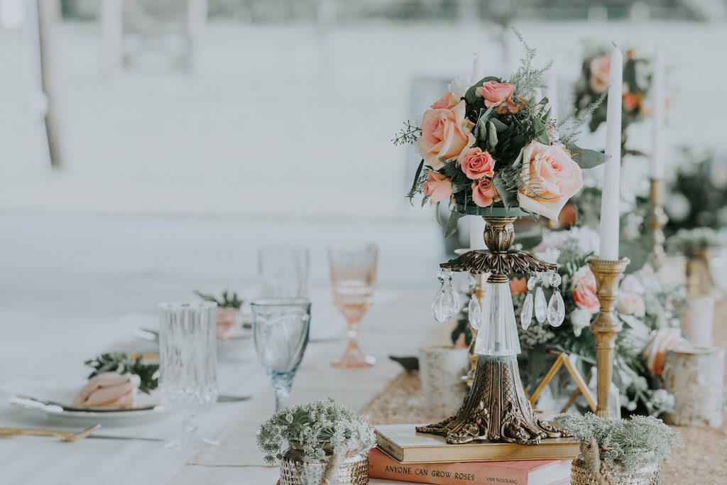 Outstanding Elegant Rustic Wedding Reception Decor With Chrystal And Download Free Architecture Designs Scobabritishbridgeorg