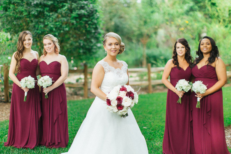 Romantic fall inspired tampa bay wedding cross creek ranch for Wedding dresses tampa bay area