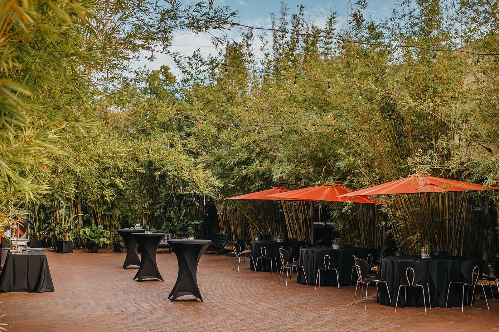 NOVA 535 | St. Pete Wedding Venue Outdoor Courtyard