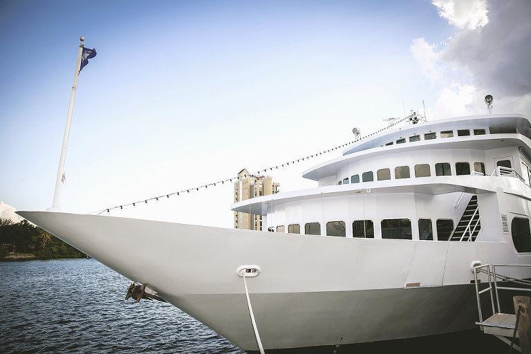 All-Inclusive Tampa Unique Wedding Reception Venue Yacht Starship