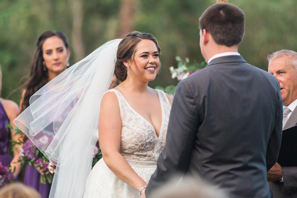 Outdoor Wedding Ceremony Portrait
