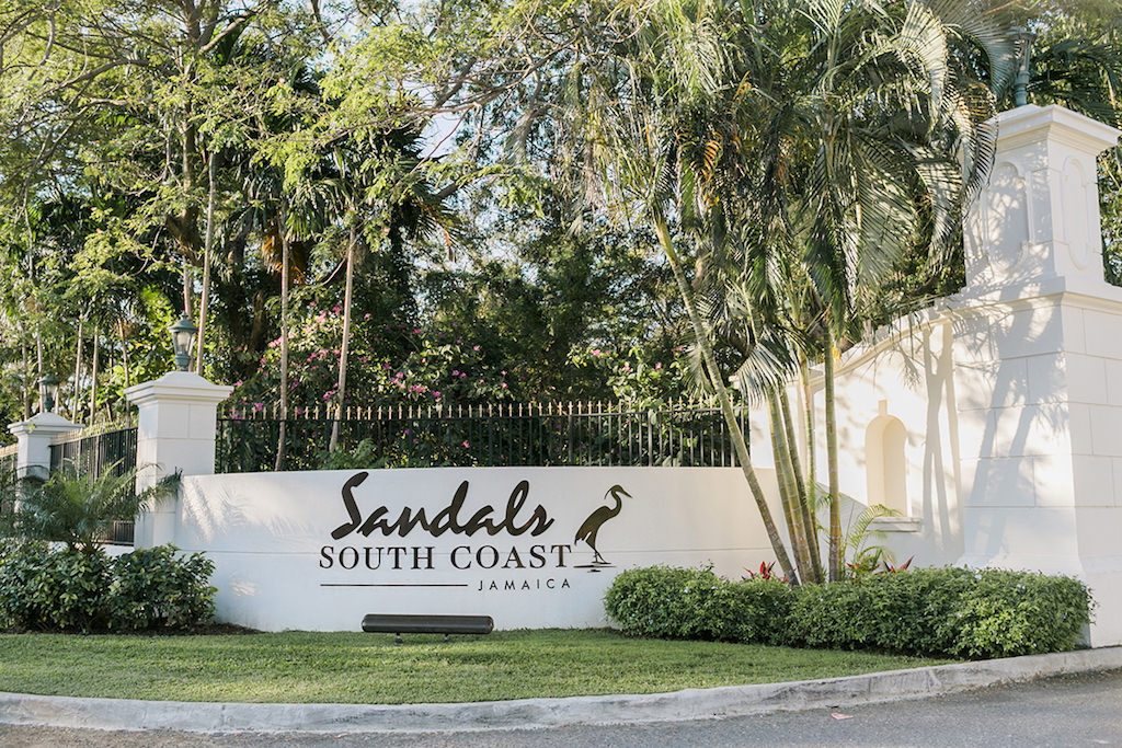 Sandals South Coast Jamaica Destination Caribbean Wedding and Honeymoon | Alexis June Weddings