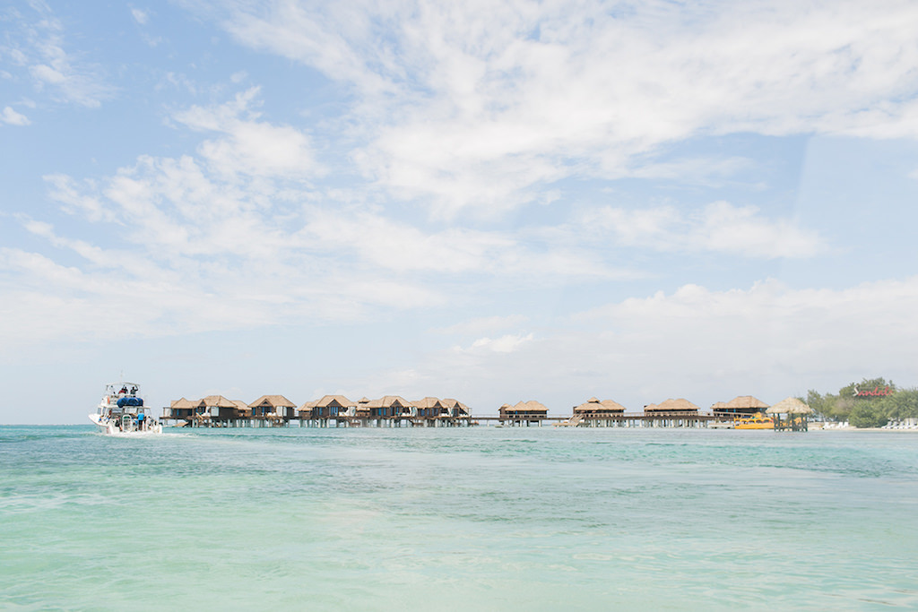 Sandals Montego Bay Jamaica Overwater Bungalow Destination Caribbean Wedding and Honeymoon | Alexis June Weddings