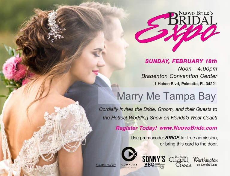 5af7e3d949e Find the latest trends and hottest ideas and connect with elite members of  the event industry at Sarasota area Nuovo Bride Bridal Expo on Sunday