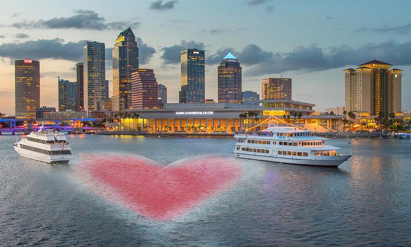 Yacht Starship 2018 Valentines Day Dinner Flyer