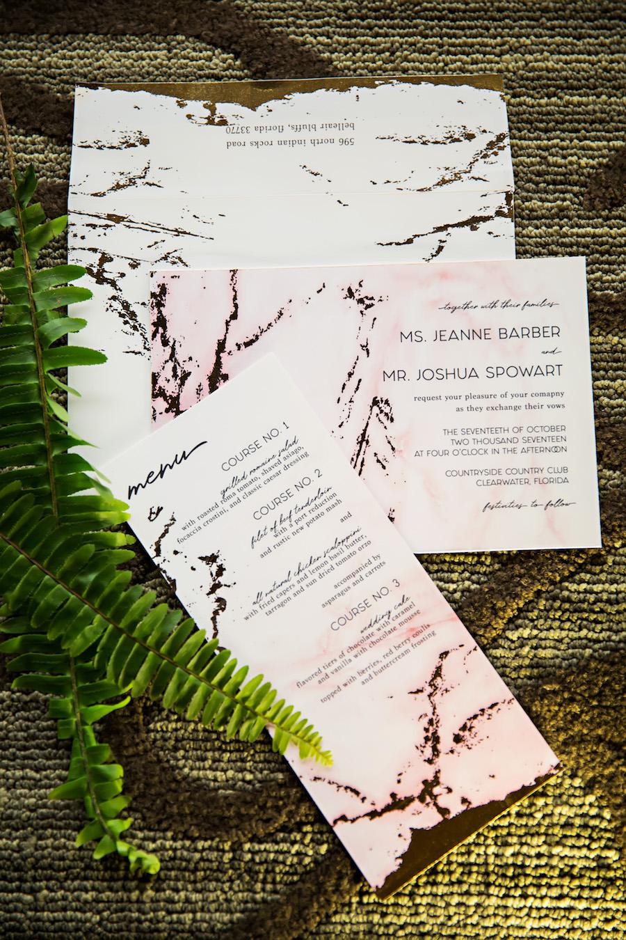 URBANcoast Tampa Bay Wedding Invitation and Paper GoodS Custom Designers   Tampa Bay Wedding Invitations