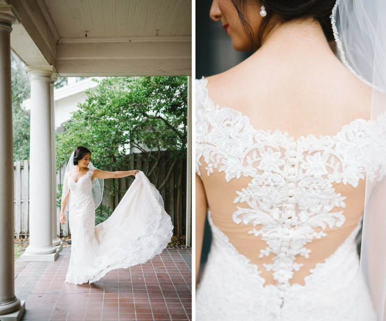 Wedding Gowns Tampa: Burgundy, Blush, And Gold Tampa Wedding