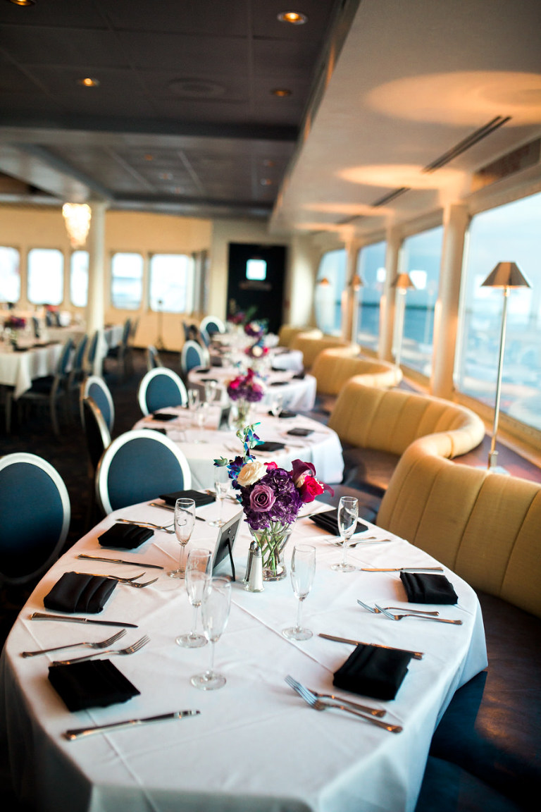 Jewel Toned Downtown Tampa Waterfront Wedding The Yacht
