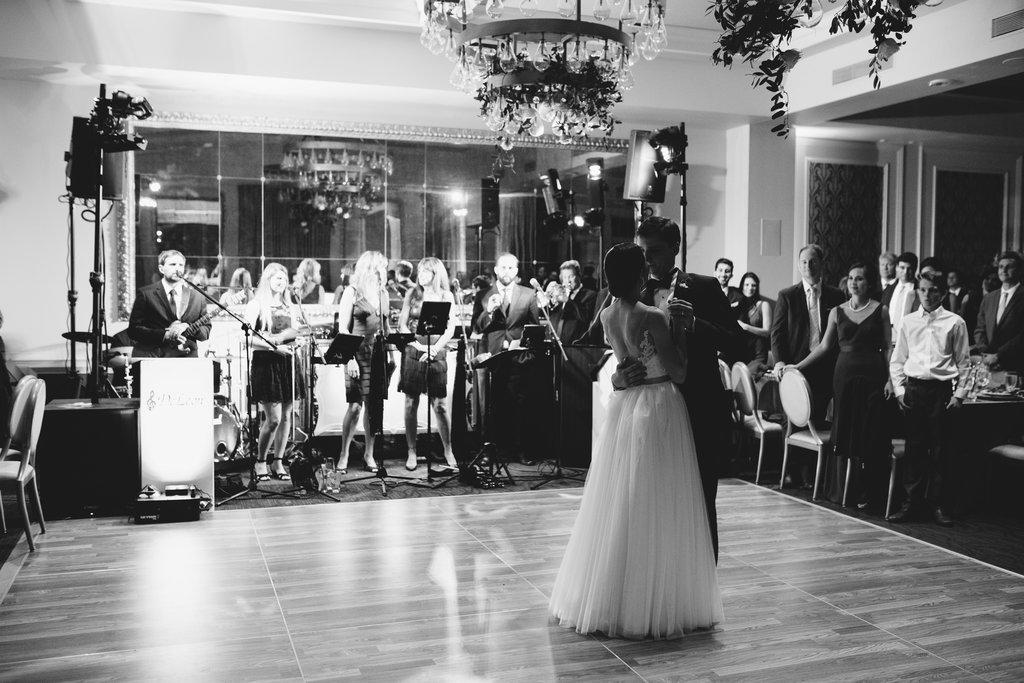 Hotel Ballroom Wedding Reception First Dance Portrait | St Pete Wedding Venue The Birchwood