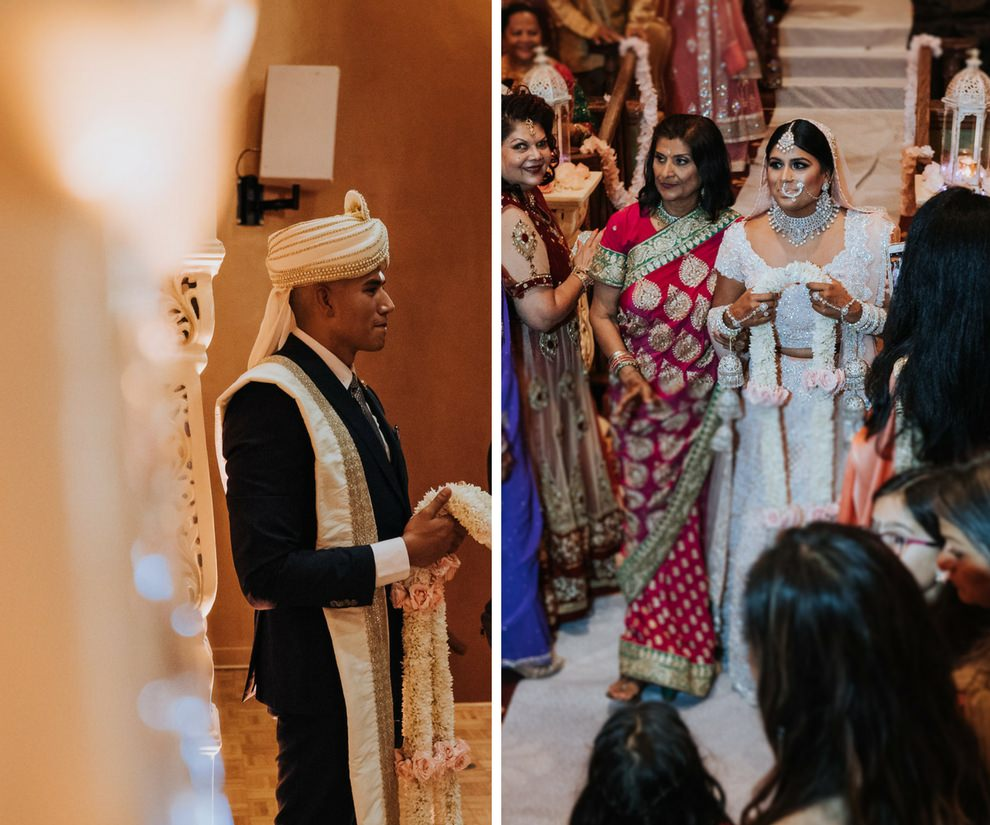 Traditional Hindu Wedding Ceremony Portrait   Tampa Wedding Photographer Grind and Press Photography