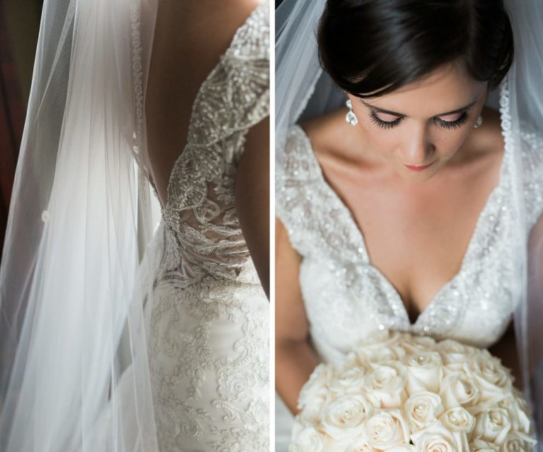 Wedding Gowns Tampa: Jewel Toned Downtown Tampa Waterfront Wedding