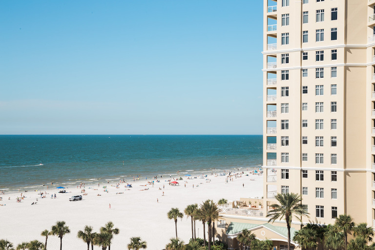 Tampa Bay Beach Hotel Wedding Venue Hilton Clearwater Beach