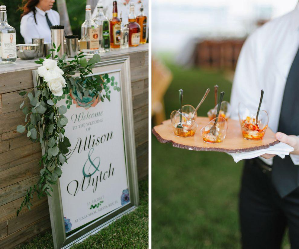 Sarasota Wedding Caterer Modern Events Cocktail Hour Hor Devours