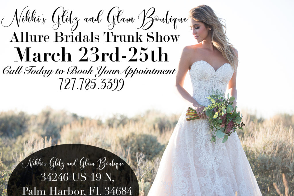 Nikkis Glitz and Glam Allure Bridal Show 2018