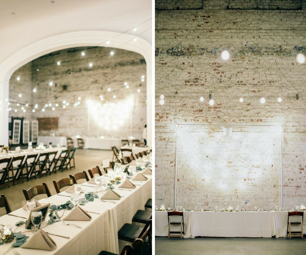 Vintage Travel Inspired Minimalist Wedding Reception with