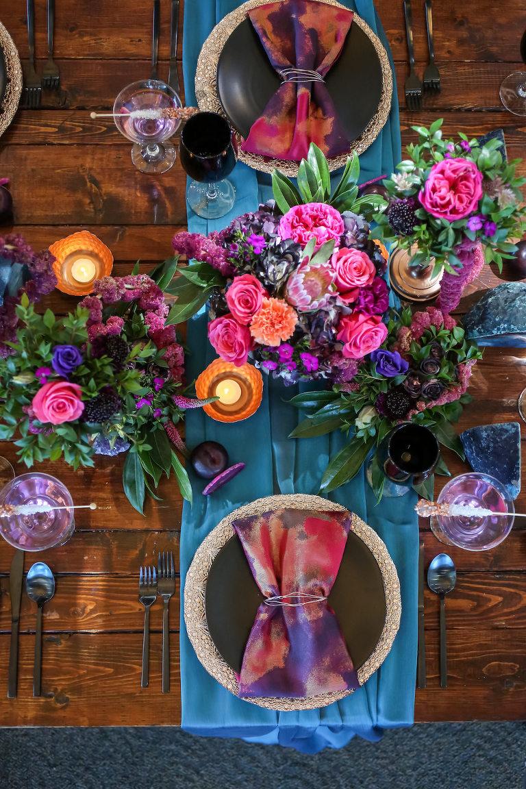 Vibrant Purple And Pink St Pete Wedding Inspiration Isla Del Sol
