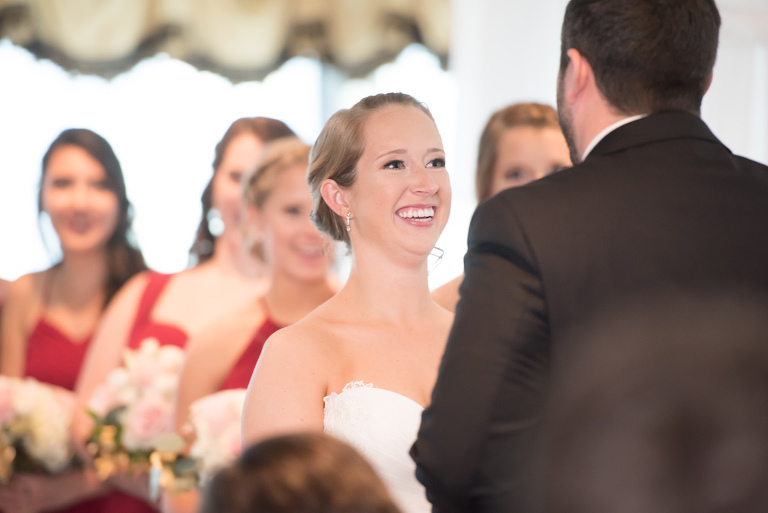 Wedding Ceremony Bridal Portrait   Tampa Wedding Photographer Carrie Wildes Photography