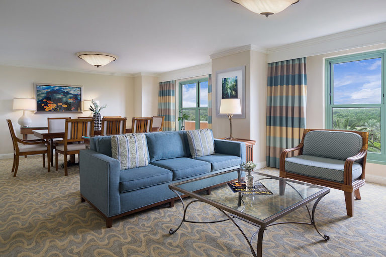 JW Marriott Grande Lakes Orlando Hotel Staycation Girls Weekend Bachelorette/Bachelor Party Room Suite
