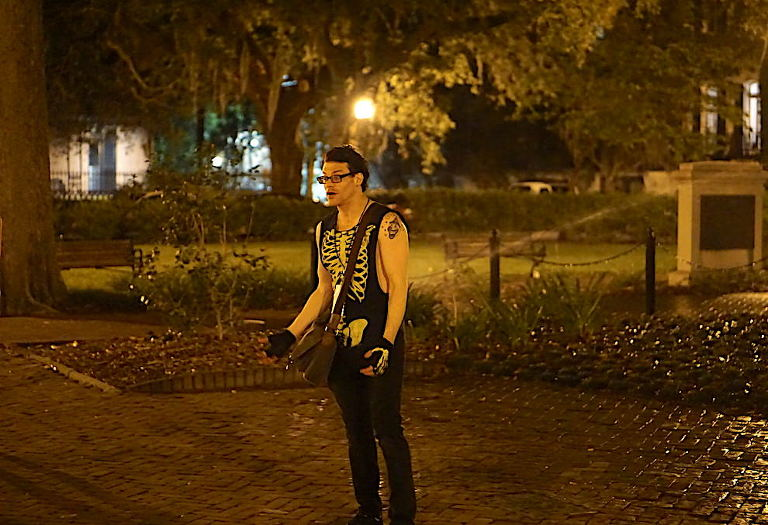 The Night of the Dead Ghost Tour with Tour Guide Skippy | Savannah Ghost Tours | Things to Do in Savannah