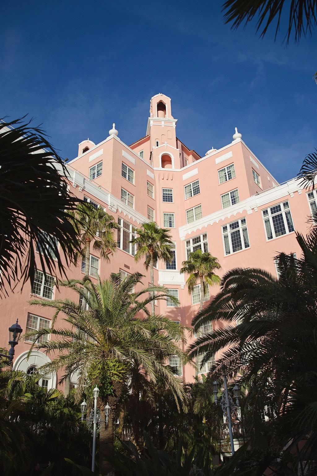 Historic Waterfront Hotel St. Pete Beach Wedding Venue The Don CeSar