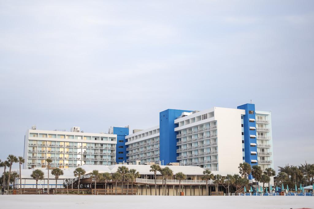 Tampa Bay Waterfront Beach Hotel Wedding Venue Hilton Clearwater Beach