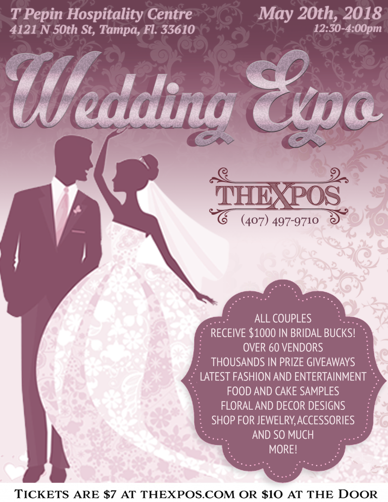 TheXpos May 2018 expo flyer