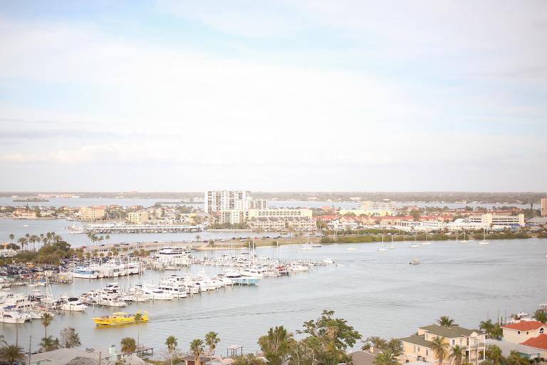 View from Waterfront Tampa Bay Hotel Wedding Venue Hyatt Regency Clearwater Beach